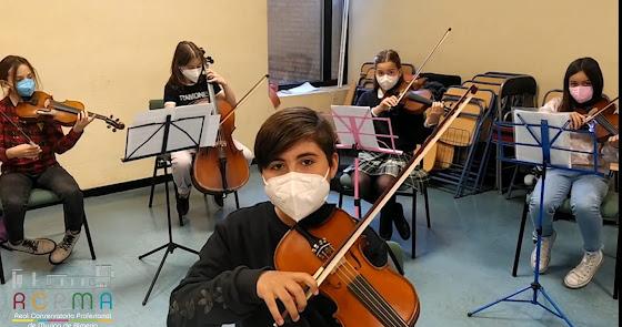 Alumnado del Conservatorio Profesional de Música nos animan a visitar sus clases