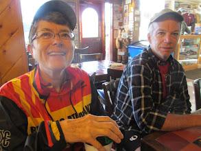 Photo: Susan and Vic