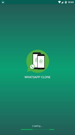 Clone App for whatsapp screenshot 1