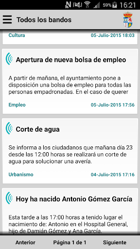 Ceclavín Informa