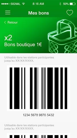 android ma Carte BP Screenshot 2