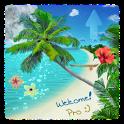 Beach Live Wallpaper Pro icon