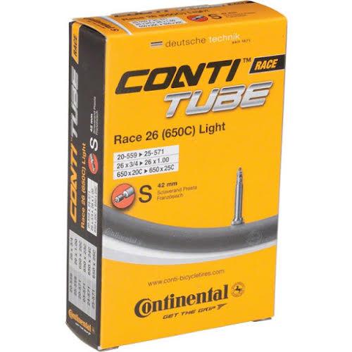 Continental Light 650 x 18-25mm 42mm Presta Valve Tube