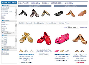Photo: A great dress shoe collection which can be hard to find for young girls.