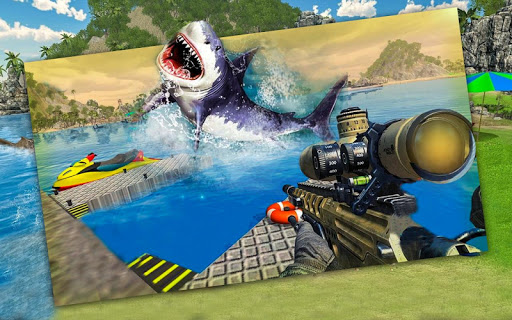 Real Whale Shark Sniper Gun Hunter Simulator 19 1.0.4 screenshots 2