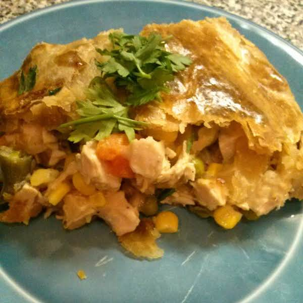 Chicken Pot Pie Family Style Recipe
