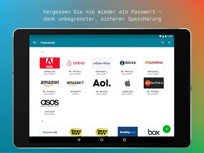 Dashlane Password Manager Screenshot