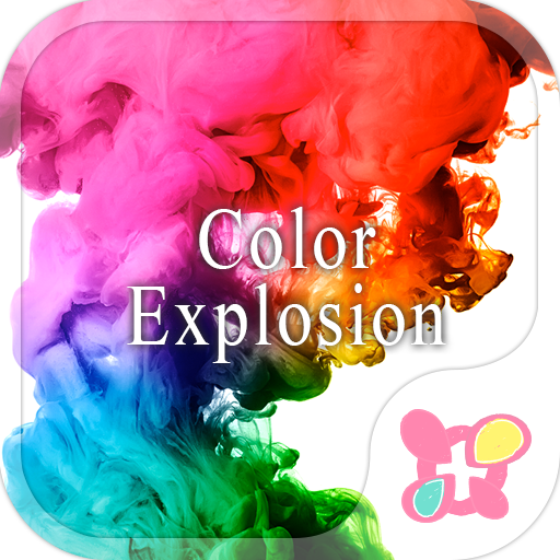 Cool wallpaper-Color Explosion Icon