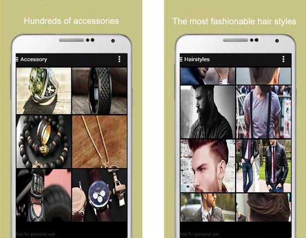 android Men Fashion 2016 Screenshot 4