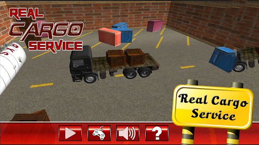 実際の貨物サービス - 駐車場