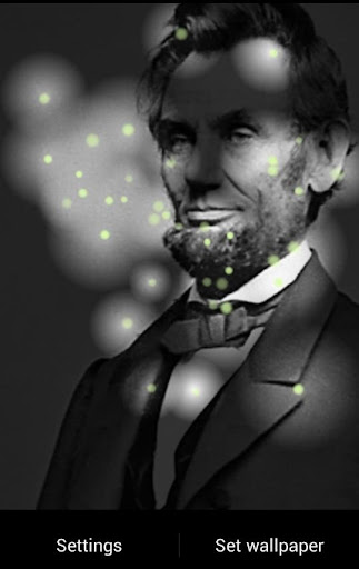 Abraham Lincoln Fireflies LWP