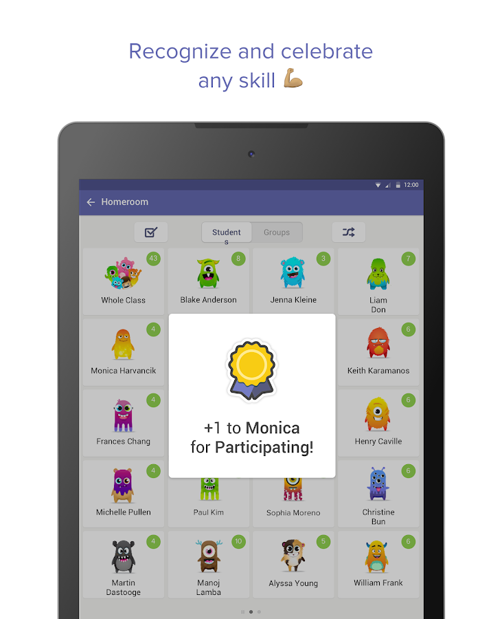Screenshots of ClassDojo for iPhone