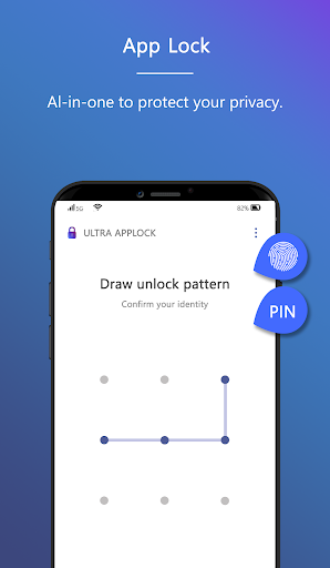 Ultra AppLock-Ultra AppLock protects your privacy. 1.0 screenshots 1