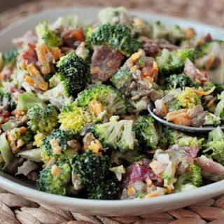 The Best Broccoli Salad.