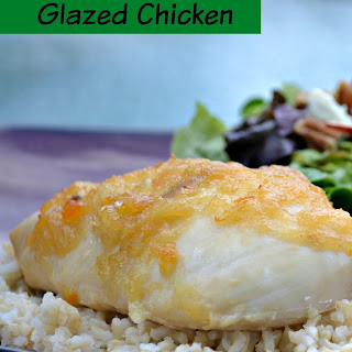 Apple Sauce Glazed Chicken