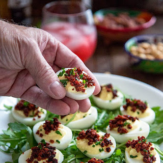 Crispy Chorizo Deviled Eggs Recipe
