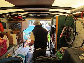 Photo: Jim is loading luggage