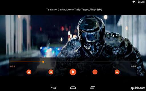 Androidのビデオプレーヤー