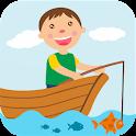 Boy Fishing - game for kids icon