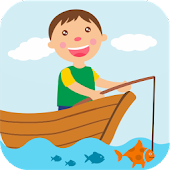 Boy Fishing - game for kids