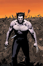 Photo: WOLVERINE MAX #1 VARIANT COVER. 2012. Ink(ed by Joe Rivera) on Marvel board, 11 × 17.25″.