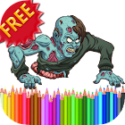 Coloring Book Zombies icon