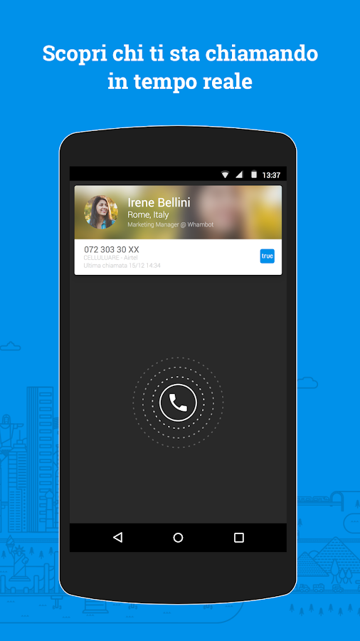 Truecaller-Identifica e blocca- screenshot