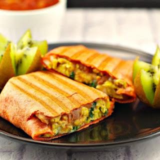Mediterranean Breakfast Burrito.