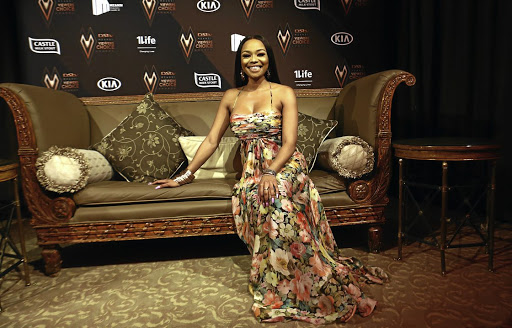Bonang Matheba after being announced as this year's host for the DStv Mzansi Viewers' Choice Awards and nominated for the personality of the year.