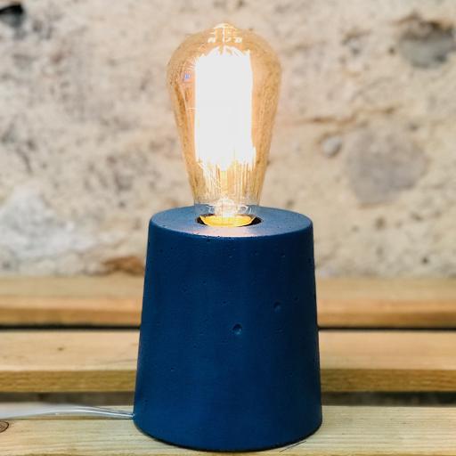 lampe béton pétrole design fait-main création made in france Junny