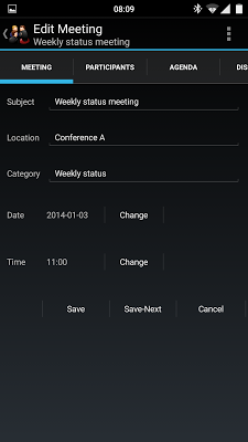 Meeting Minutes Trial - screenshot