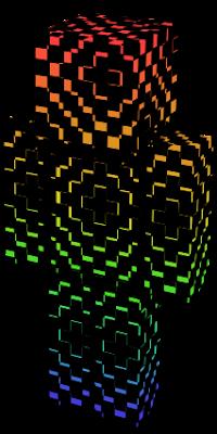 Minecraft Skin Wallpaper Girl Illusion Nova Skin