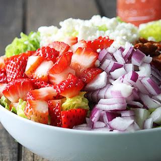 Strawberry Poppyseed and Bacon Chopped Salad