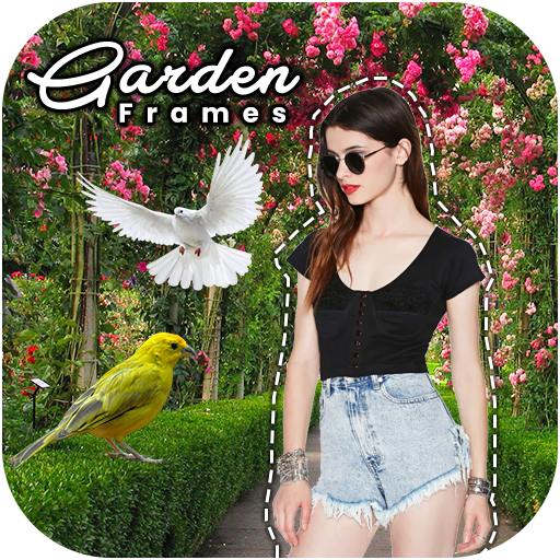 Garden Photo Frames New Android APK Download Free By New Developer Apps