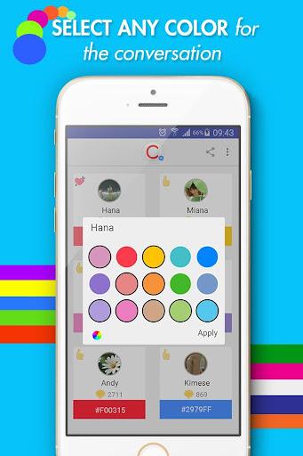 CCMessenger - Color & Emoji for Messenger 3.0 screenshots 3