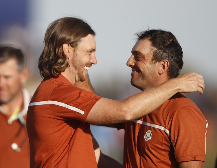 European superteam Tommy Fleetwood and Francesco Molinari