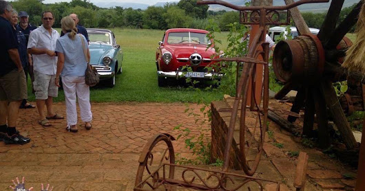 Old cars at the Cheese Farm, South Africa