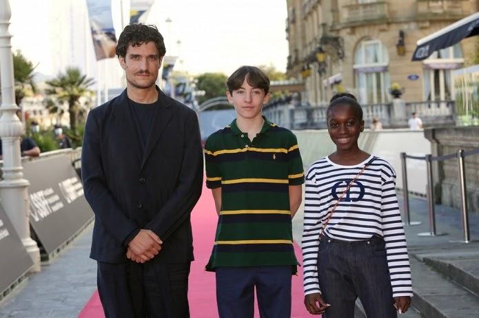 Louis Garrel, Joseph Engel y Julia Boème