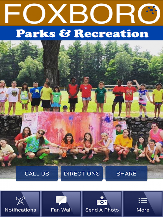 Foxborough Recreation Dept.- screenshot