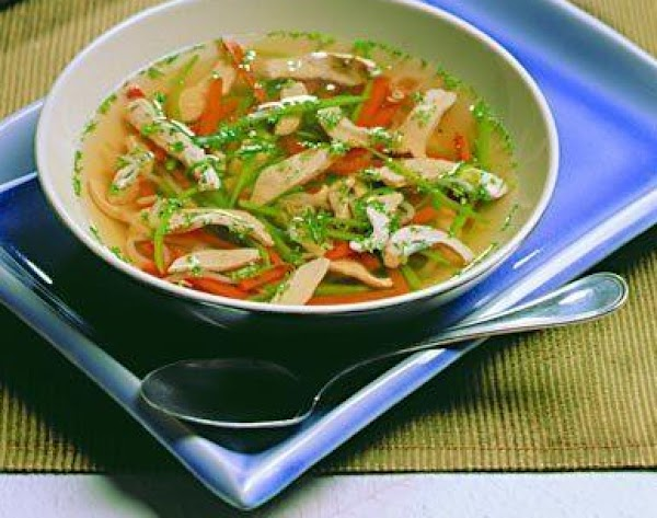 Chicken And Asian Vegetable Soup Recipe