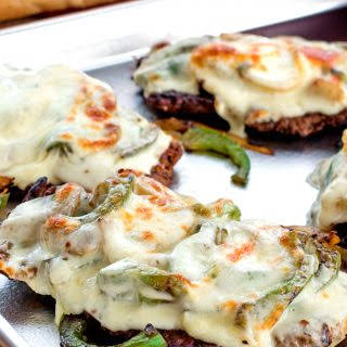 Smothered Philly Cheese Cubed Steak.