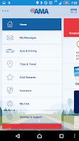 Screenshot of AMA Mobile