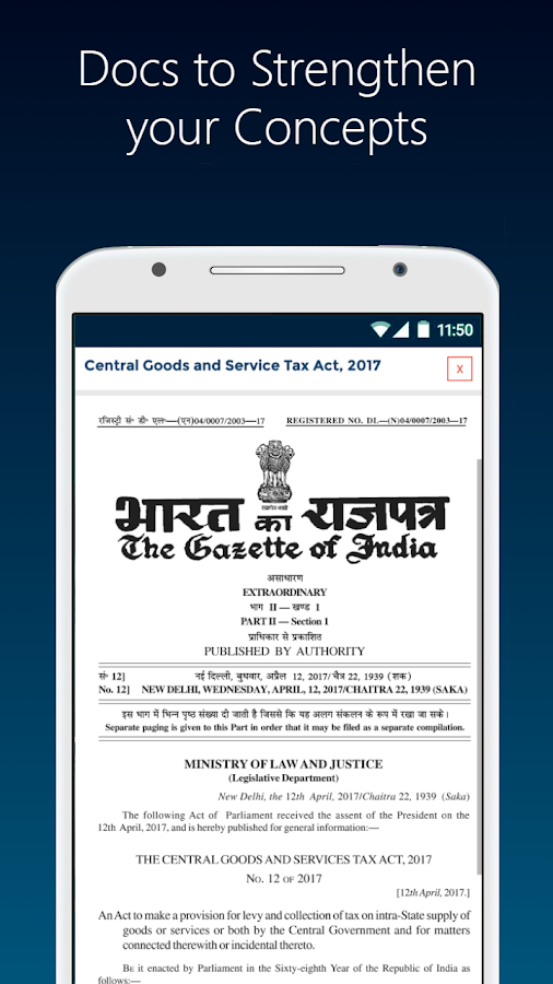 Tax Guide: GST, Income Tax (Direct & Indirect)- screenshot