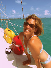 Photo: ready for an afternoon dip in waters off Sale Cay