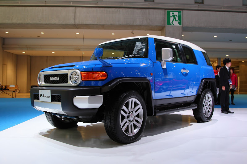 Photo: FJ Cruiser - Toyota Booth Photos : Press Day – Tokyo Motor Show 2011