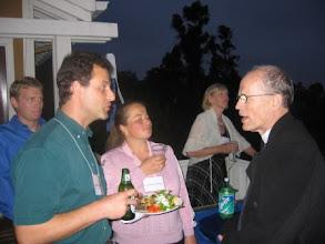 Photo: ProfessorsVladimir Mandelshtam, Svetlana Jitomirskaya and Mark Satterthwaite