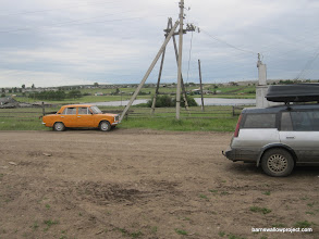 Photo: Russians love interesting colored cars