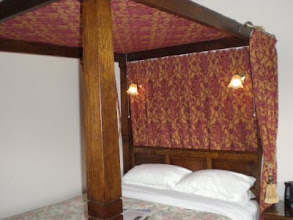 Photo: PW - My bed at Beck Hall B&B