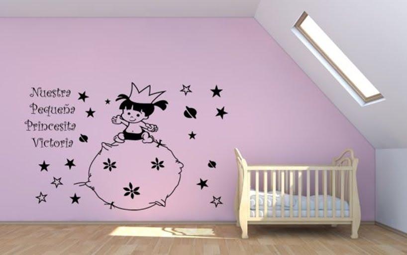 Tips ideas para decorar con vinilos infantiles fractal for Vinilos infantiles nino