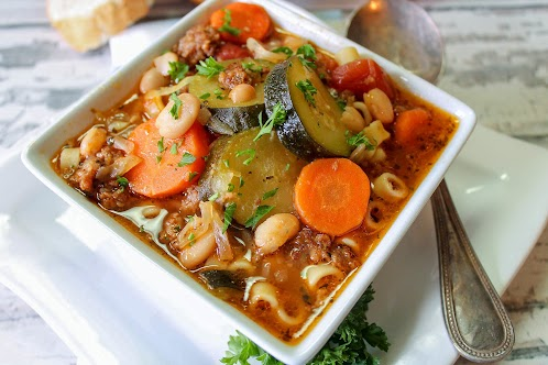 Heirloom Minestrone Soup